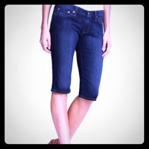 AG the maiden cigarette crop jeans.